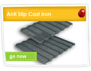 Anti Slip Cast Iron Slat